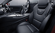 Mercedes Roadster AMG feature -  Sports seats with Nappa Leather